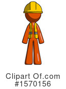 Orange Design Mascot Clipart #1570156 by Leo Blanchette