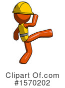 Orange Design Mascot Clipart #1570202 by Leo Blanchette