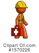 Orange Design Mascot Clipart #1570226 by Leo Blanchette