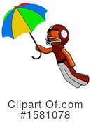 Orange Design Mascot Clipart #1581078 by Leo Blanchette