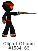 Orange Design Mascot Clipart #1584163 by Leo Blanchette