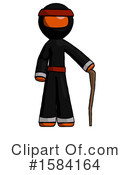 Orange Design Mascot Clipart #1584164 by Leo Blanchette