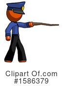 Orange Design Mascot Clipart #1586379 by Leo Blanchette