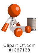 Orange Doctor Clipart #1367138