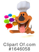 Orange Dog Clipart #1646058 by Julos