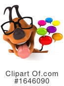 Orange Dog Clipart #1646090 by Julos