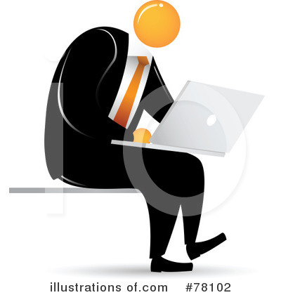 Businessman Clipart #78102 by Qiun