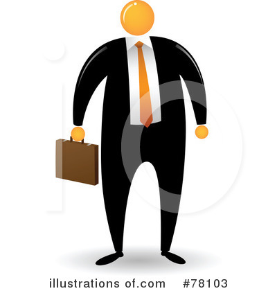 Businessman Clipart #78103 by Qiun
