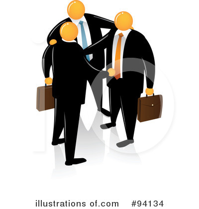 Businessman Clipart #94134 by Qiun