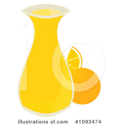 Orange Juice Clipart #1093474 by Randomway