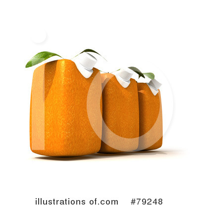 Oranges Clipart #79248 by Frank Boston