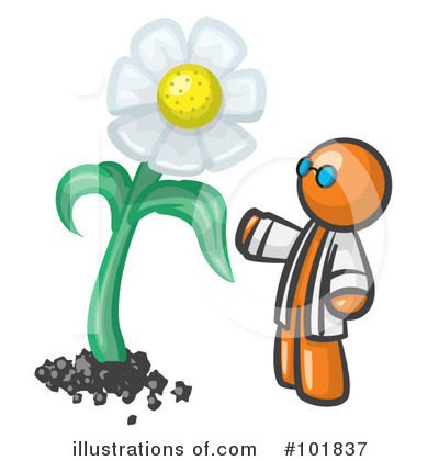 Daisy Clipart #101837 by Leo Blanchette