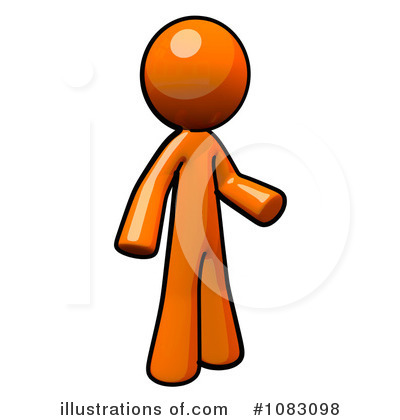 orange man clipart 1083098 illustration by leo blanchette rh illustrationsof com  orange man clipart collection