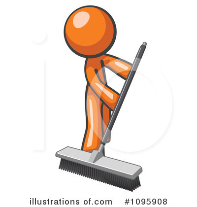 Sweeping Clipart #1095908 by Leo Blanchette