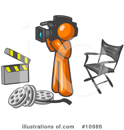 Director Clipart #10986 by Leo Blanchette