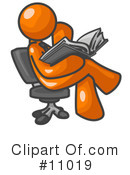 Orange Man Clipart #11019 by Leo Blanchette