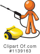 Royalty-Free (RF) Orange Man Clipart Illustration #1139163