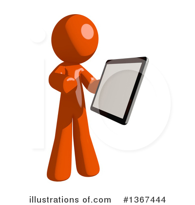 Tablet Clipart #1367444 by Leo Blanchette