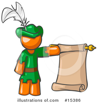 Robin Hood Clipart #15386 by Leo Blanchette