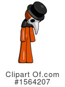 Orange Man Clipart #1564207 by Leo Blanchette