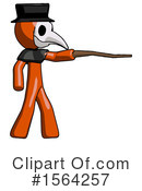 Orange Man Clipart #1564257 by Leo Blanchette