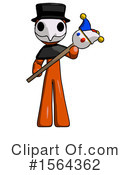 Orange Man Clipart #1564362 by Leo Blanchette