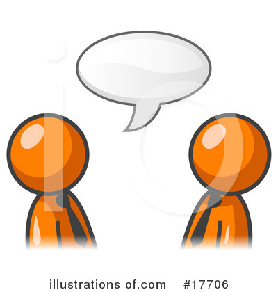 Colleagues Clipart #17706 by Leo Blanchette