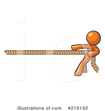 Tug Of War Clipart #210192 by Leo Blanchette