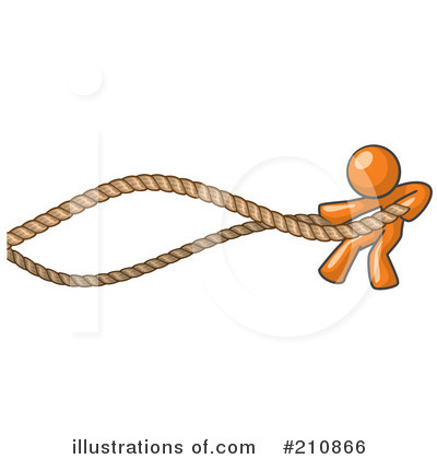 Tug Of War Clipart #210866 by Leo Blanchette