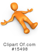 Orange People Clipart #15498 by 3poD