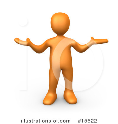 Orange People Clipart 15522 Illustration By 3pod