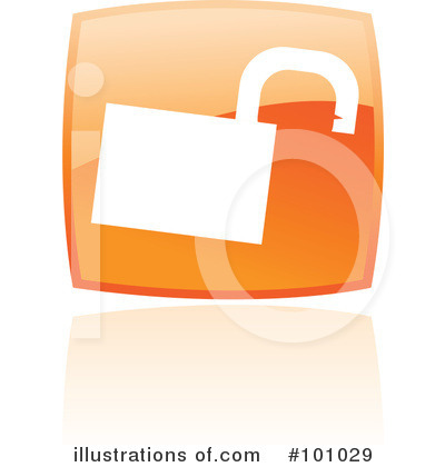 Orange Square Icons Clipart #101029 by cidepix