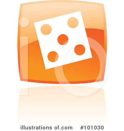 Orange Square Icons Clipart #101030 by cidepix