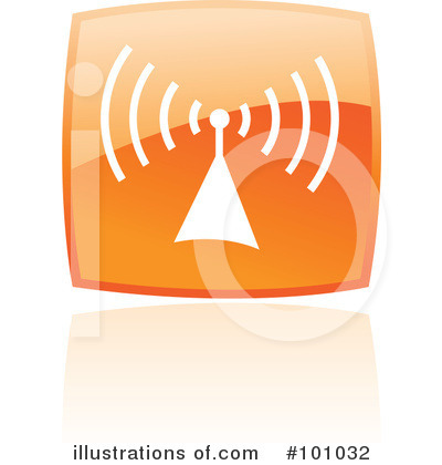 Orange Square Icons Clipart #101032 by cidepix