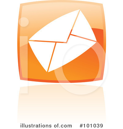 Orange Square Icons Clipart #101039 by cidepix