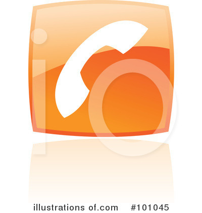 Orange Square Icons Clipart #101045 by cidepix