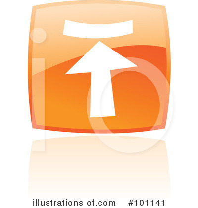 Royalty-Free (RF) Orange Square Icons Clipart Illustration by cidepix - Stock Sample #101141