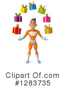 Orange Super Hero Clipart #1283735 by Julos