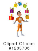 Orange Super Hero Clipart #1283736 by Julos