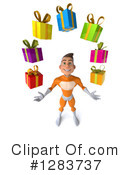 Orange Super Hero Clipart #1283737 by Julos