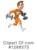 Orange Super Hero Clipart #1288373 by Julos