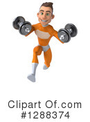 Orange Super Hero Clipart #1288374 by Julos