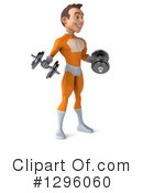 Orange Super Hero Clipart #1296060 by Julos