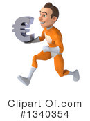 Orange Super Hero Clipart #1340354 by Julos