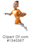 Orange Super Hero Clipart #1340367 by Julos