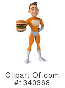 Orange Super Hero Clipart #1340368 by Julos