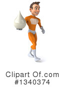 Orange Super Hero Clipart #1340374 by Julos