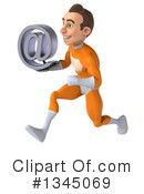 Orange Super Hero Clipart #1345069 by Julos