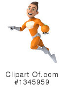 Orange Super Hero Clipart #1345959 by Julos