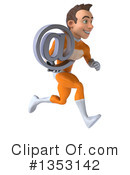 Orange Super Hero Clipart #1353142 by Julos